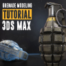 [Gumroad] Ultimate Grenade Tutorial Hardsurface 3D Course [ENG-RUS]