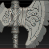 [Digital Tutors] Sculpting a Stylized Axe in ZBrush [ENG-RUS]