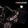[CGcircuit] Abstract Visuals - Houdini and Redshift [ENG-RUS]